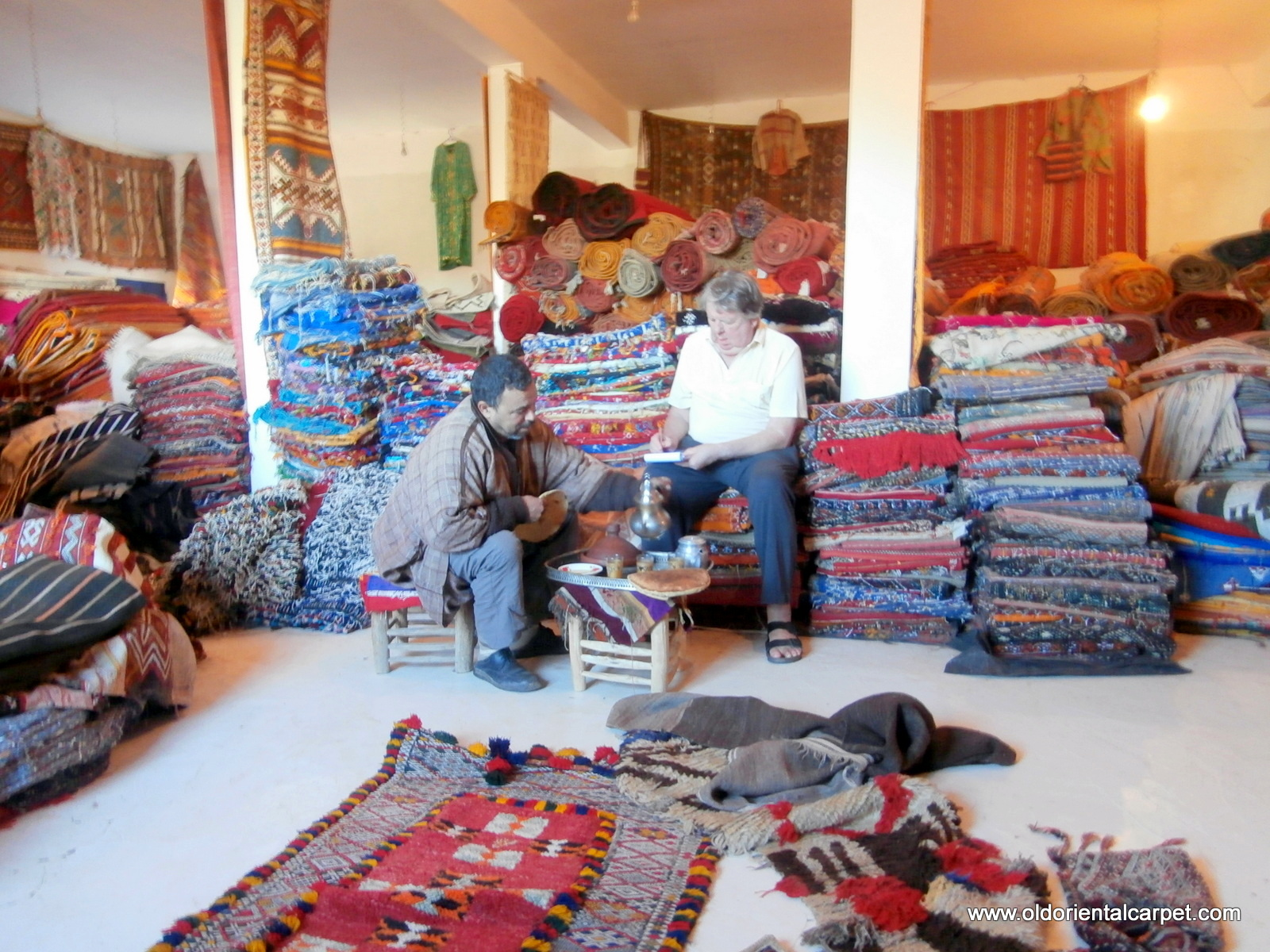 Ing Rugs Recently From A Berber Trader In The High Atlas Mountains Of Southern Morocco Bottom Photo Shows Afghans